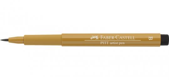 268 grüngold Faber Castell Tuschestift  PITT artist pen B