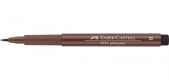 169 caput mortuum Faber Castell Tuschestift  PITT artist pen B