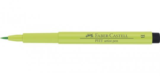 171 lichtgrün Faber Castell Tuschestift  PITT artist pen B