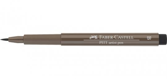 177 walnussbraun Faber Castell Tuschestift  PITT artist pen B