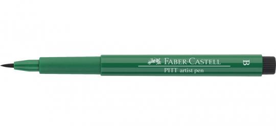 264 phthalogrün dunkel Faber Castell Tuschestift  PITT artist pen B