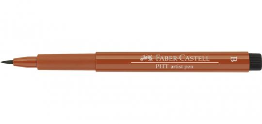 188 rötel Faber Castell Tuschestift  PITT artist pen B