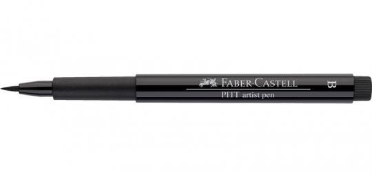 199 schwarz Faber Castell Tuschestift  PITT artist pen B