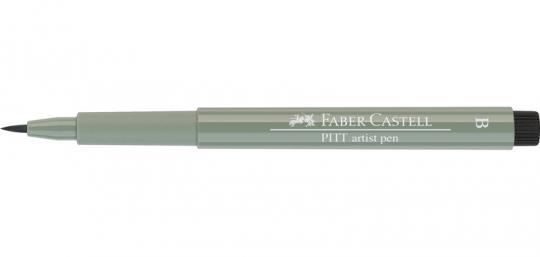 172 grünerde Faber Castell Tuschestift  PITT artist pen B