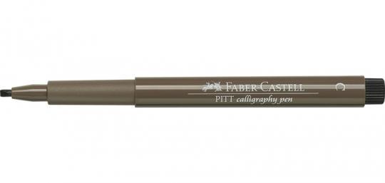 C 177 walnussbraun Faber Castell Tuschestift PITT artist pen