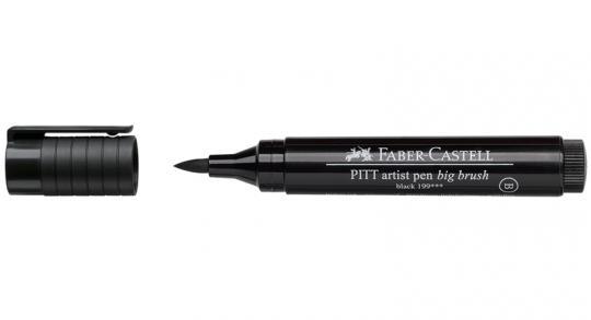 BB 199 schwarz Faber Castell Tuschestift  PITT artist pen