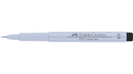 Faber Castell Tuschestift indigo hell 220 PITT artist pen SB soft brush