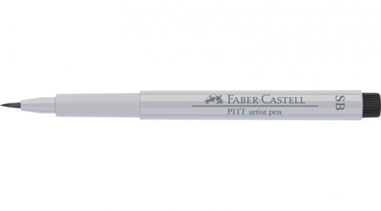 Faber Castell Tuschestift kaltgrau I 230 PITT artist pen SB soft brush