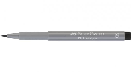 Faber Castell Tuschestift kaltgrau III 232 PITT artist pen SB soft brush