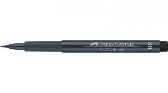 Faber Castell Tuschestift indigo dunkel 157 PITT artist pen SB soft brush