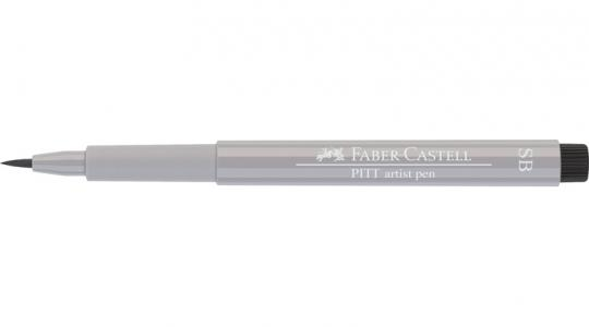 Faber Castell Tuschestift warmgrau III 272 PITT artist pen SB soft brush