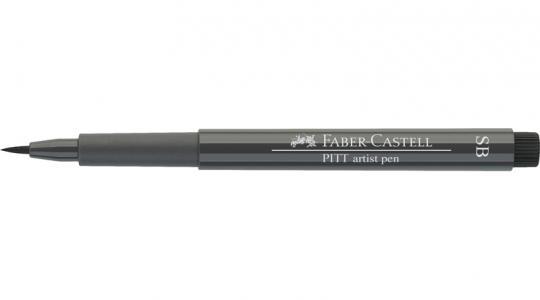 Faber Castell Tuschestift warmgrau V 274 PITT artist pen SB soft brush