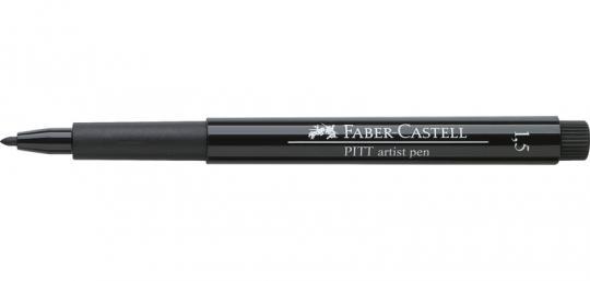 1,5mm 199 schwarz Faber Castell Tuschestift  PITT artist pen