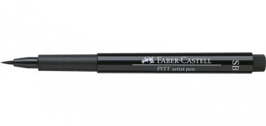 SB 199 schwarz Faber Castell Tuschestift  PITT artist pen