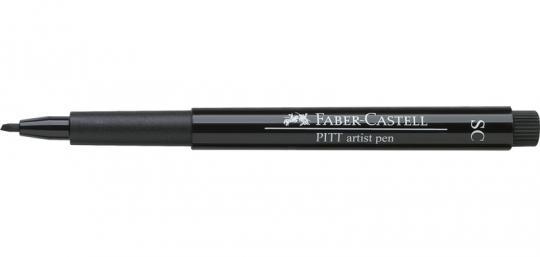 SC 199 schwarz Faber Castell Tuschestift  PITT artist pen