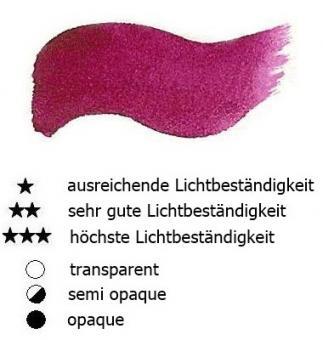 16 Alizarin Renesans Aquarellfarbe Godet 1/2 Napf