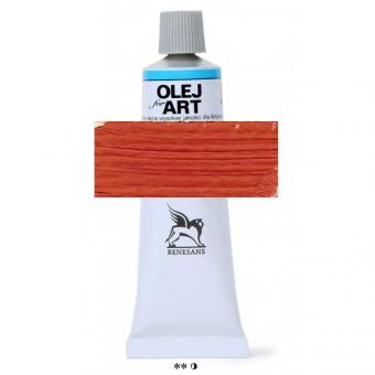 16 Scharlachrot hell  Renesans Oils for Art 60ml Metalltube
