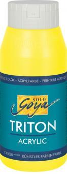 Triton Acrylic Basic Fluoreszierend-Gelb  Fl. 750 ml
