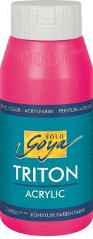 Triton Acrylic Basic Fluoreszierend-Rosa  Fl. 750 ml