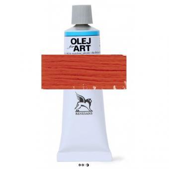 17 Scharlachrot dunkel  Renesans Oils for Art 60ml Metalltube