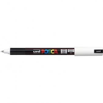 Posca Marker weiß-1 PC-1MR (Extrafein) 0,7 mm