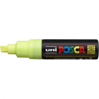 Posca Marker neon-gelb-F2 PC-8K (Keilspitze breit) 8 mm