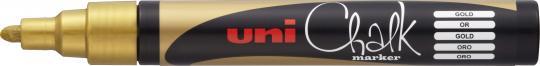 Uni Chalk Marker PWE-5M gold