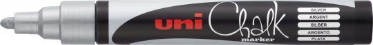Uni Chalk Marker PWE-5M silber