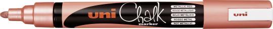 Uni Chalk Marker PWE-5M rot metallic