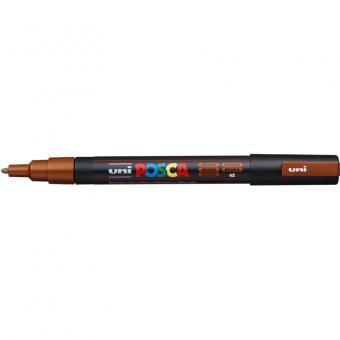 Posca Marker bronze-42 PC-3M  (Rundspitze fein) 0,9 - 1,3 mm