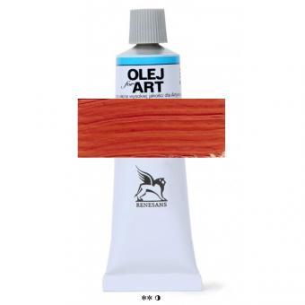 18 Scharlachrot  Renesans Oils for Art 60ml Metalltube