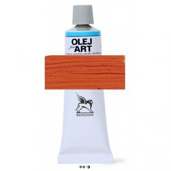 19 Saturnrot Renesans Oils for Art 60ml Metalltube