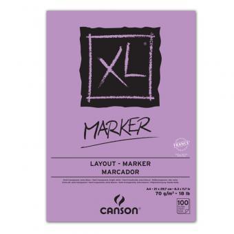 CANSON XL A4 Marker Leimung oben - für alle Arten von Layoutmakern und Farbstiften