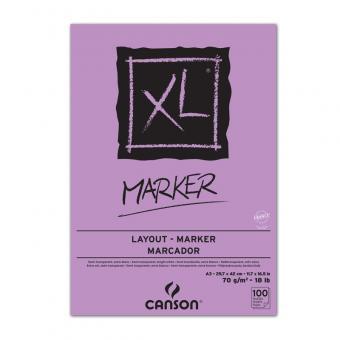 CANSON XL A3 Marker Leimung oben