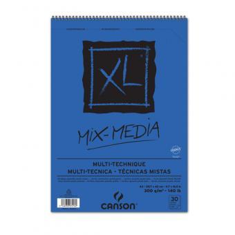 CANSON XL A3 Mixmedia Spiralbindung oben