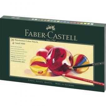 Faber Castel Mixed Media Geschenkset Polychromos + Castell 9000