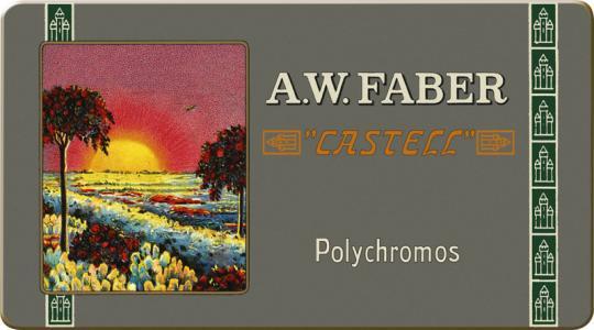 Farbstift POLYCHROMOS Metalletui 12er / Limitierte Auflage 111 Jahre