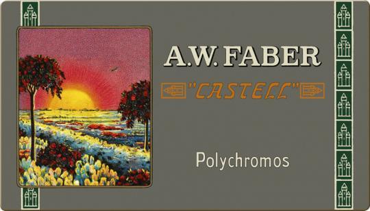 Farbstift POLYCHROMOS Metalletui 36er / Limitierte Auflage 111 Jahre