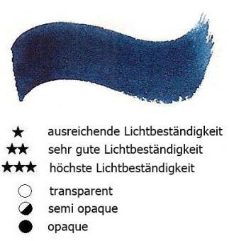 21 Pariser Blau Renesans Aquarellfarbe Godet 1/2 Napf