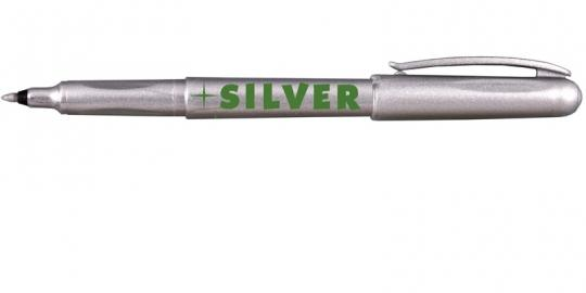 Rotbart Metallic Marker Silber 1mm