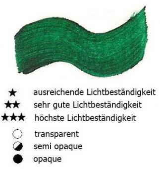 31 Smaragdgrün Hell Renesans Aquarellfarbe Godet 1/2 Napf