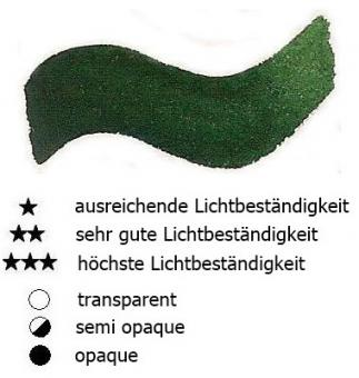 35 Hooker`s Grün Renesans Aquarellfarbe Godet 1/2 Napf