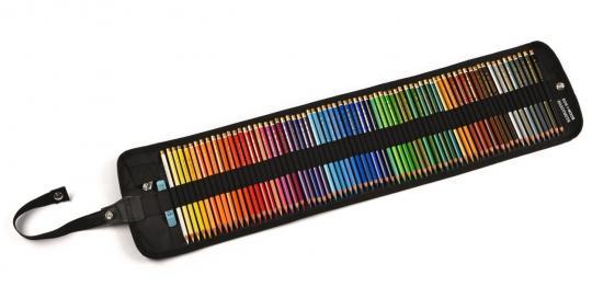 Polycolor 72er Rolltaschenetui schwarz