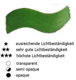 38 Zinnobergrün Dunkel Renesans Aquarellfarbe Godet 1/2 Napf