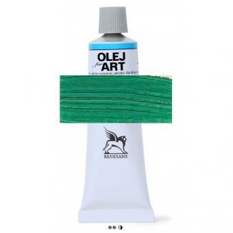 39 Permanent Grün  Renesans Oils for Art 60ml Metalltube