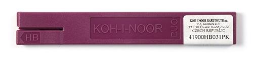 Graphitmine Ø 2mm, 120mm lang, Härte HB, 2er Set