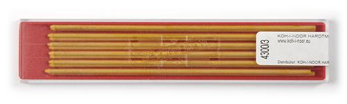 Farbminen Gelb Ø 2mm, 120mm lang 12er Set