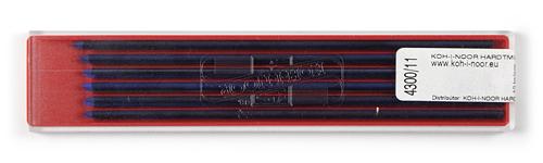 Farbminen Blau Ø 2mm, 120mm lang 12er Set