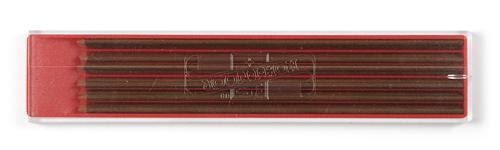 Farbminen Braun Ø 2mm, 120mm lang 12er Set