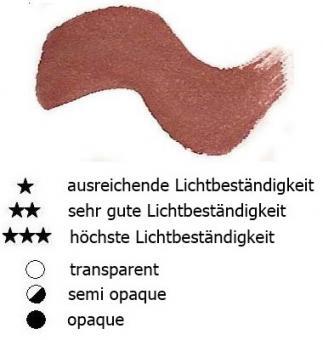 46 Siena Gebrannt Renesans Aquarellfarbe Godet 1/2 Napf